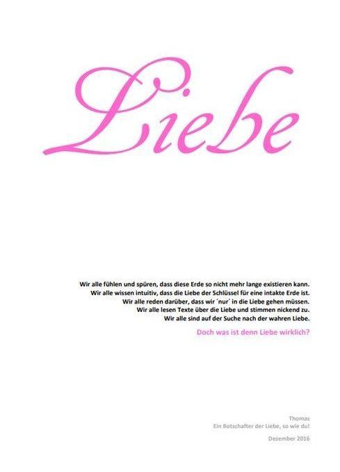 Wirkliche Liebe PDF